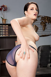 Kimberly Kane Playing With Her Hairy Pussy