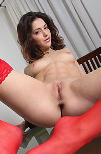 Sati Shows Her Cute Pussy