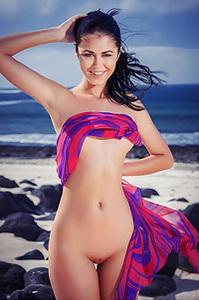 Macy B Nude By The Beach