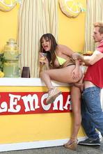 Sexy Lemonade Girl Charlotte Cross Fucked In Public 08