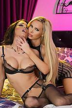 Jessica Jaymes Has Her Pussy Licked By Nikki Benz 03
