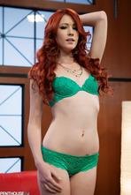 Sexy Redhead Elle Alexandra 00