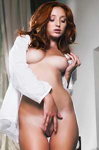 Michelle H Glamour Redhaed Teen