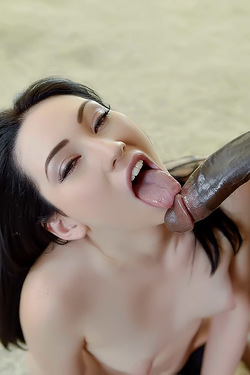 Aria Alexander Black Blowjob